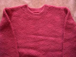 おだんごが編んだセーター