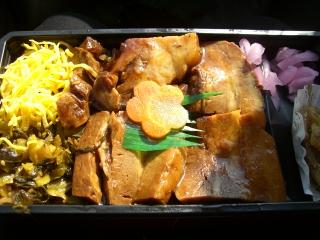 豚角煮弁当